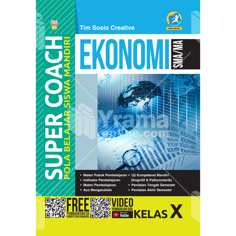 buku super coach ekonomi sma/ma kelas x