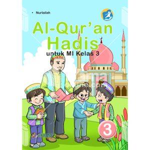 buku al-quran hadis untuk mi kelas 3