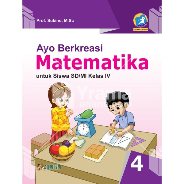 buku ayo berkreasi matematika untuk sd kelas iv