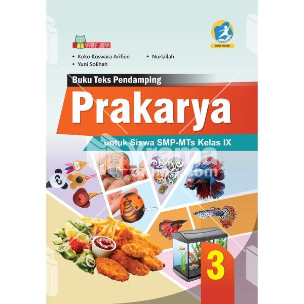 buku prakarya smp-mts kelas ix kurikulum 2013 revisi