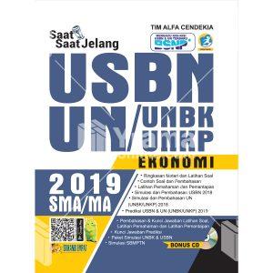 buku saat-saat jelang usbn unbk/unkp ekonomi sma 2019