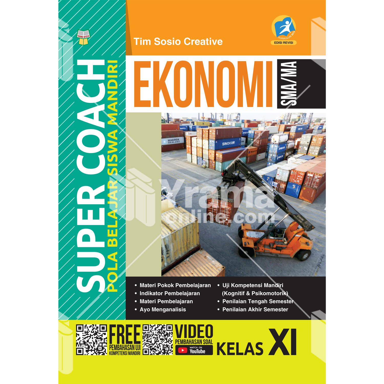 buku super coach ekonomi sma/ma kelas xi