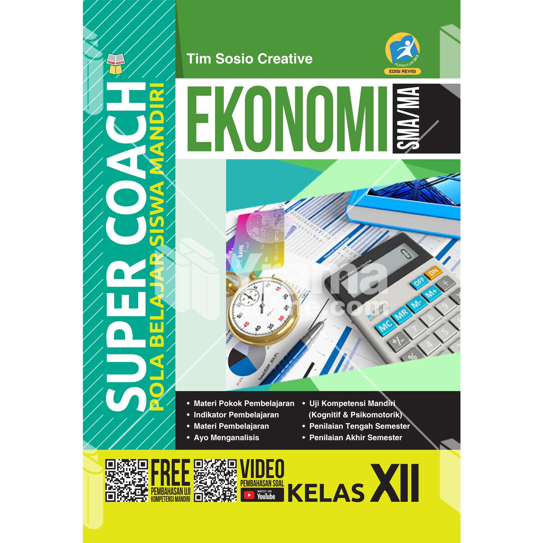 buku super coach ekonomi sma/ma kelas xii