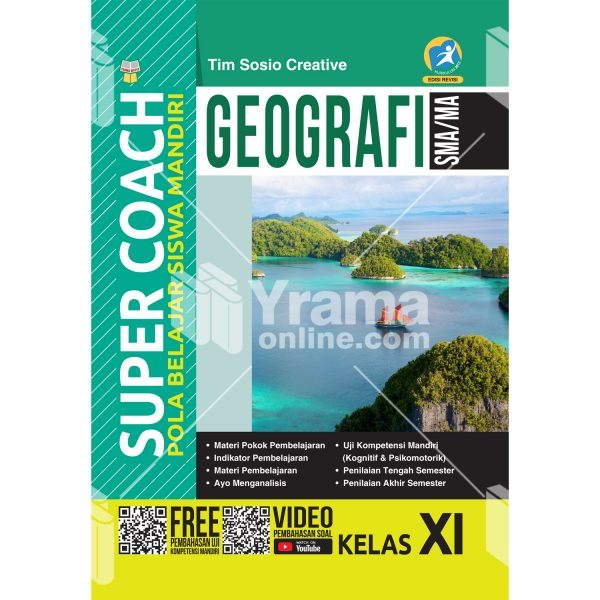 buku super coach geografi sma/ma kelas xi