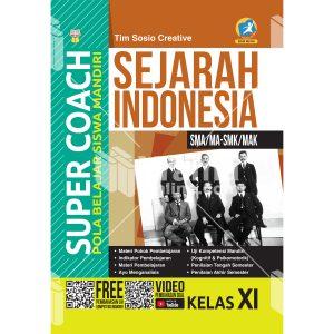 buku super coach sejarah indonesia sma/ma-smk/mak kelas xi