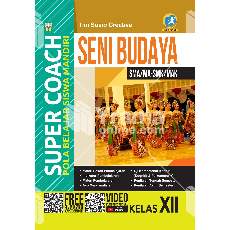 buku super coach seni budaya sma/ma-smk/mak kelas xii