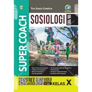 buku super coach sosiologi sma/ma kelas x