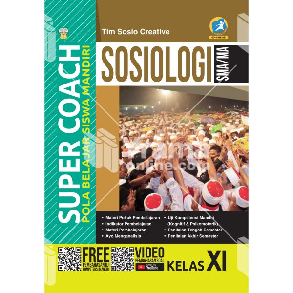 buku super coach sosiologi sma/ma kelas xi