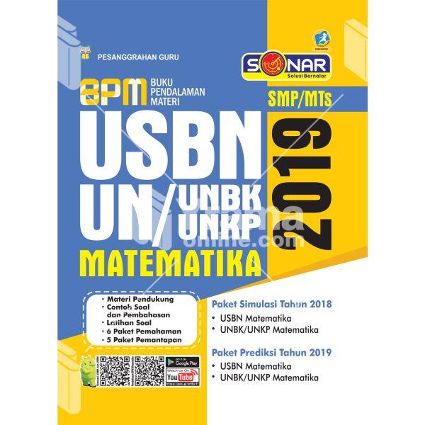 buku pendalaman materi usbn dan unbk/unkp matematika smp 2019
