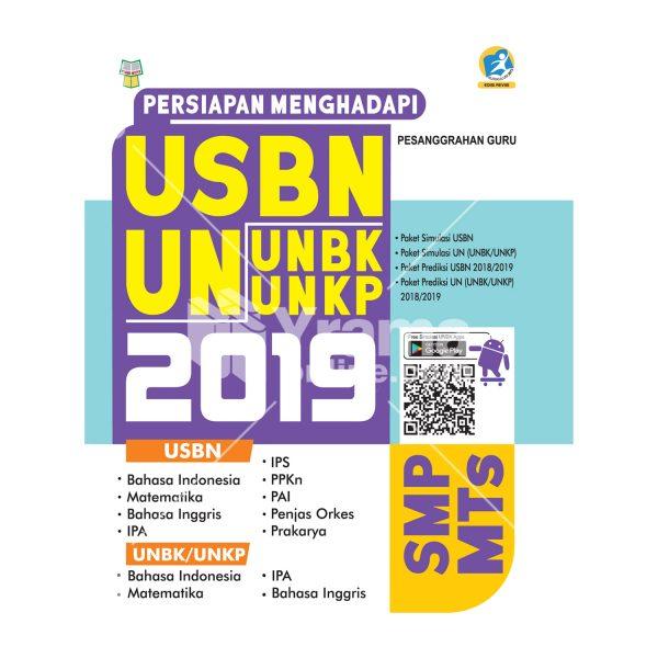 buku persiapan menghadapi usbn dan unbk/unkp smp 2019