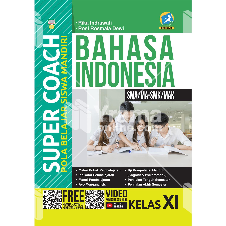 buku super coach bahasa indonesia sma/ma-smk/mak kelas xi