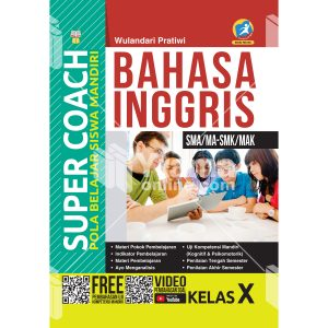 buku super coach bahasa inggris sma/ma-smk/mak kelas x