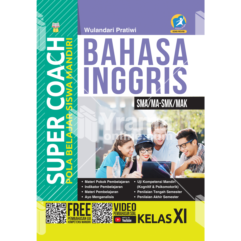 buku super coach bahasa inggris sma/ma-smk/mak kelas xi