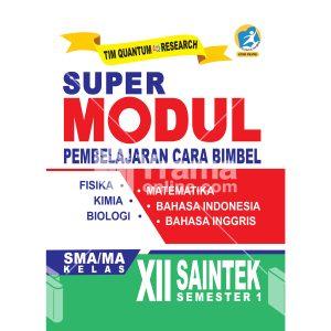 buku super modul sma/ma kelas xii saintek semester 1