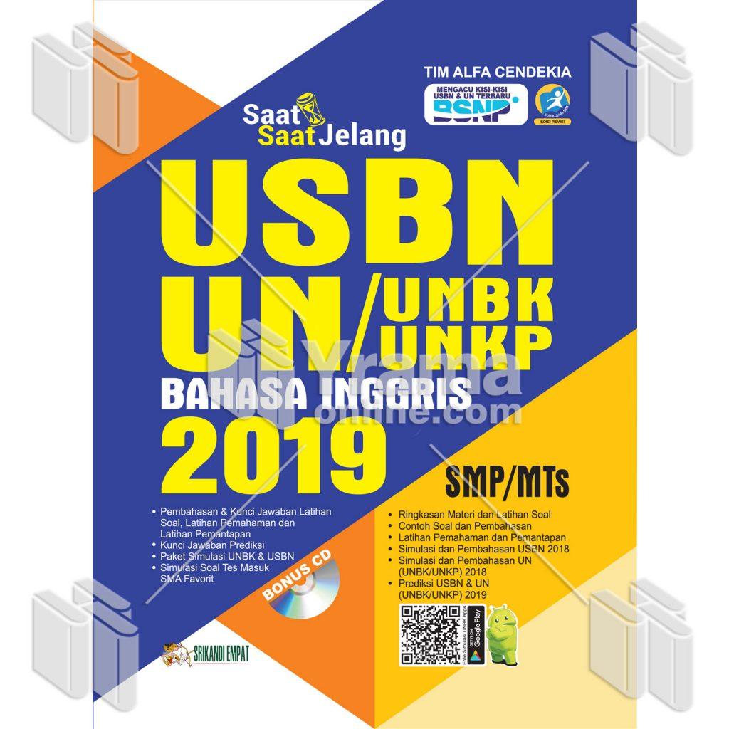 Buku Saat Saat Jelang Usbn Unbk Unkp Bahasa Indonesia Smp 2019