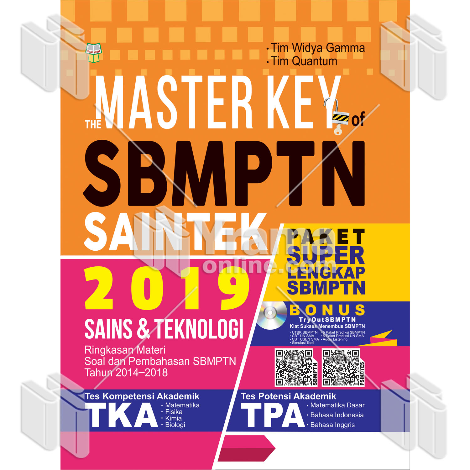 THE MASTER KEY OF SBMTPN SAINTEK 2019