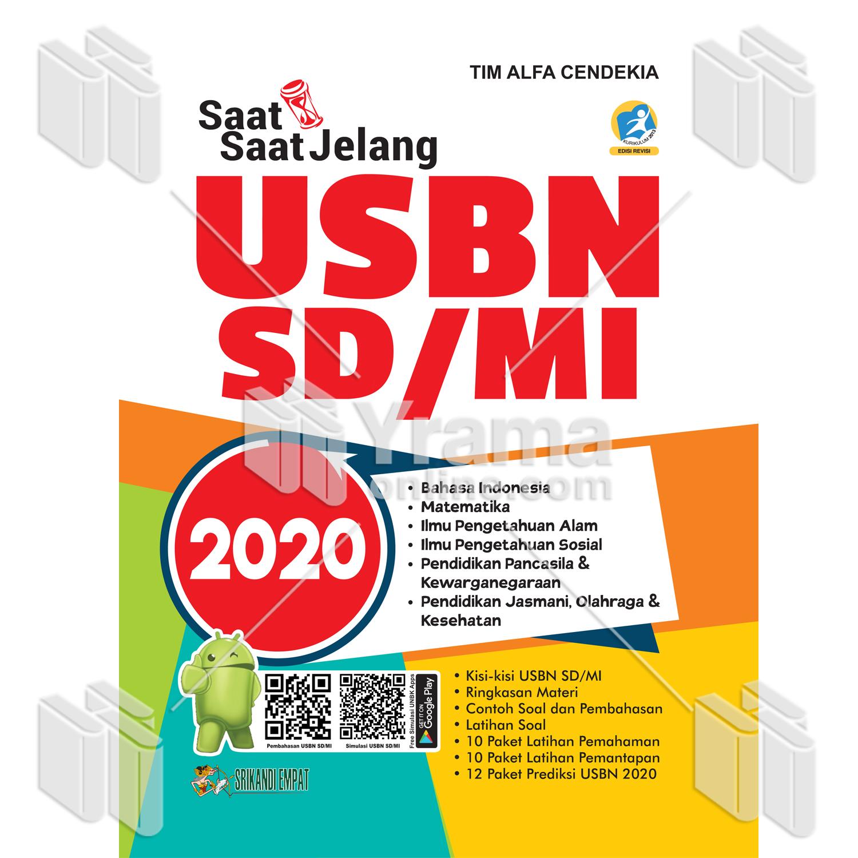 Buku Saat Saat Jelang Usbn Sd Mi 2020
