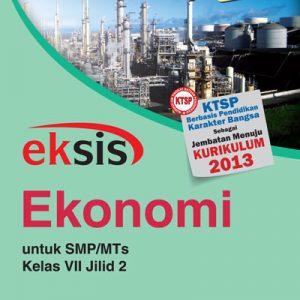buku eksis ekonomi smp-mts kelas vii jilid 2