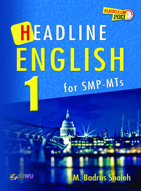 buku headline english 1 for smp-mts