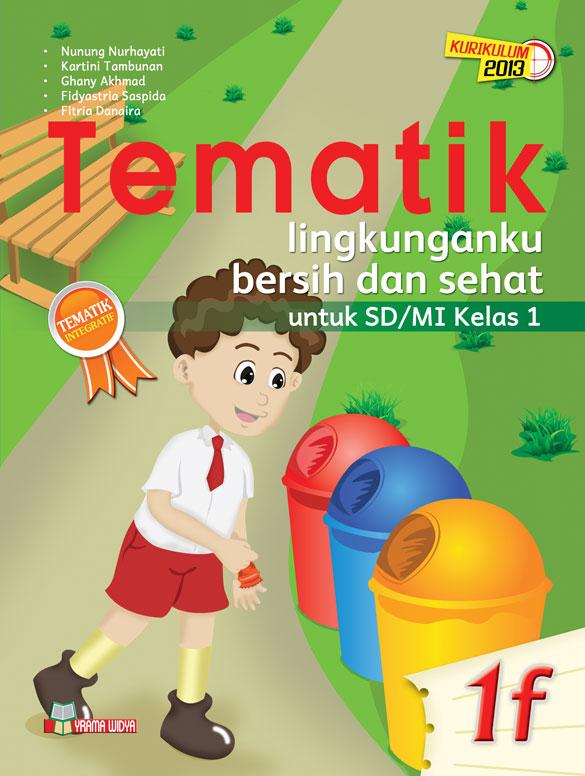 buku tematik 1f lingkunganku bersih dan sehat