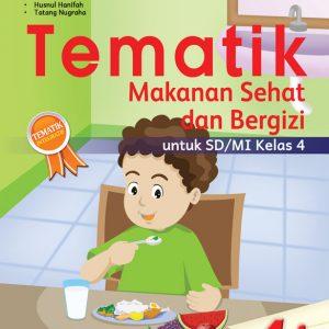 buku tematik 4i makanan sehat dan bergizi