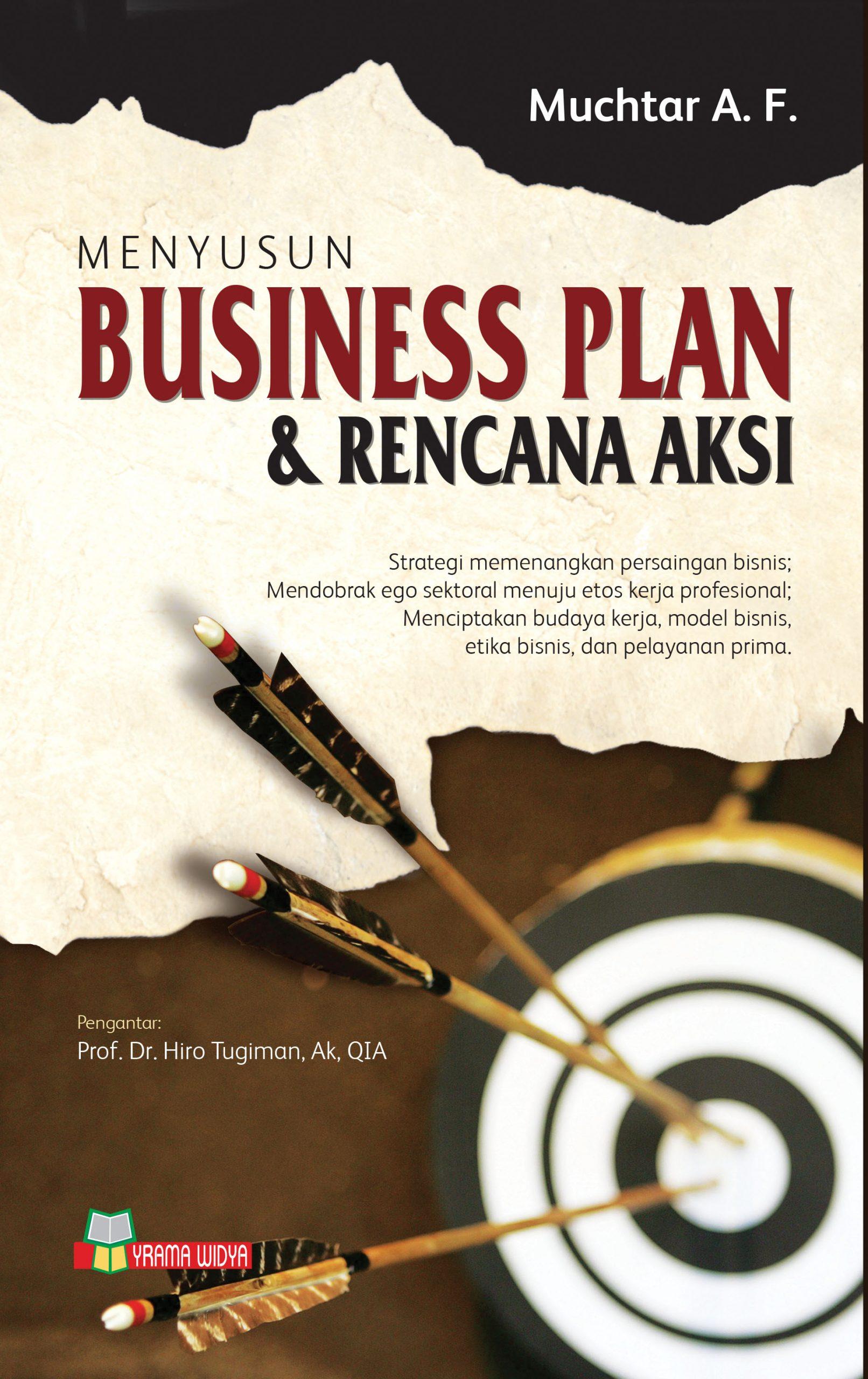 buku menyusun business plan dan rencana aksi