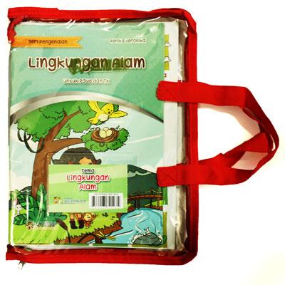 paket seri pengenalan dan kreasiku tema lingkungan alam