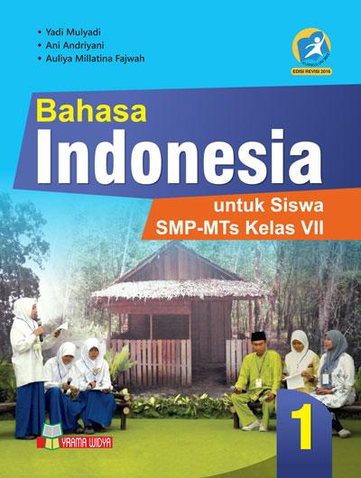 BUKU BAHASA INDONESIA SMP KELAS VII KURIKULUM 13 REVISI