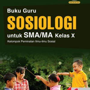 buku guru sosiologi sma/ma kelas x peminatan