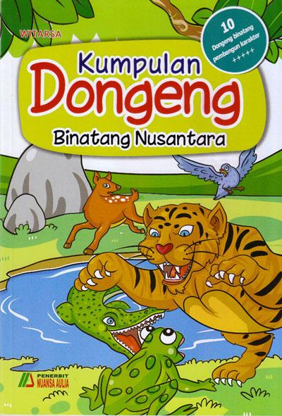 buku kumpulan dongeng binatang nusantara