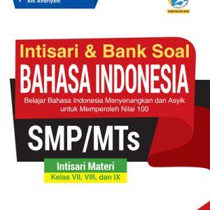 buku intisari dan bank soal bahasa indonesia smp