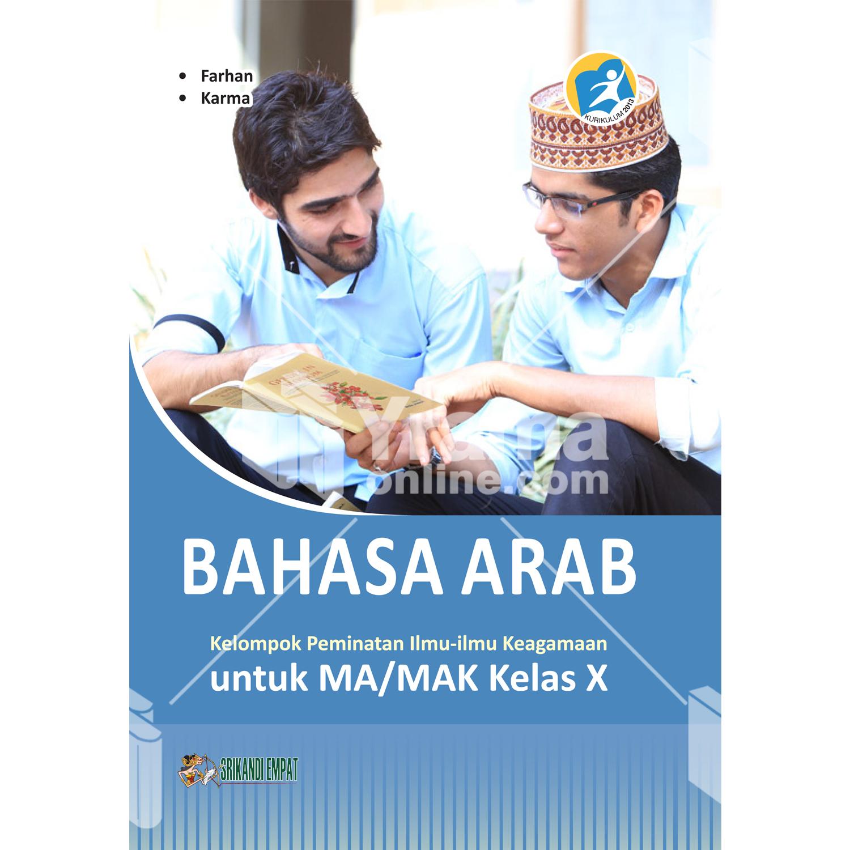 buku bahasa arab untuk ma/mak kelas x peminatan kurikulum 2013