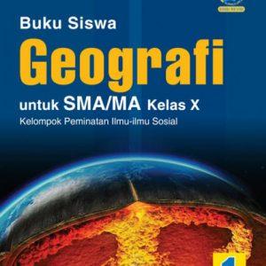 buku geografi untuk sma/ma kelas x peminatan