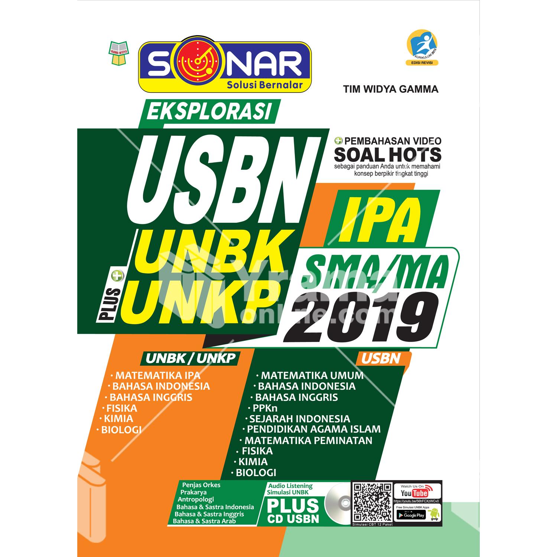 buku sonar eksplorasi usbn plus unbk/unkp sma ipa 2019