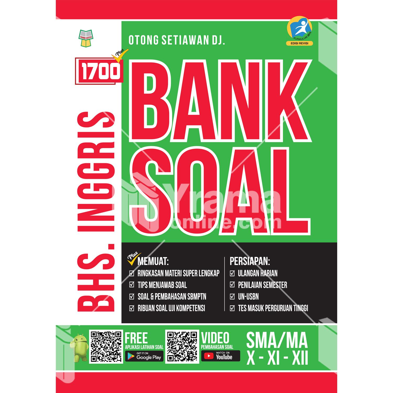 buku 1700 plus bank soal bahasa inggris sma