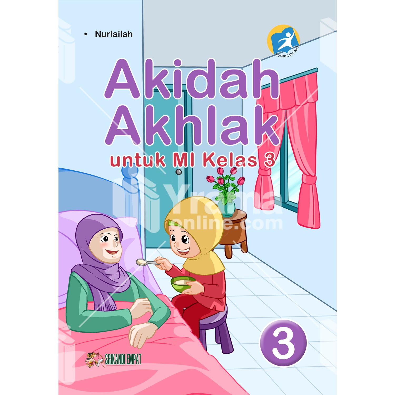 buku akidah akhlak untuk mi kelas 3