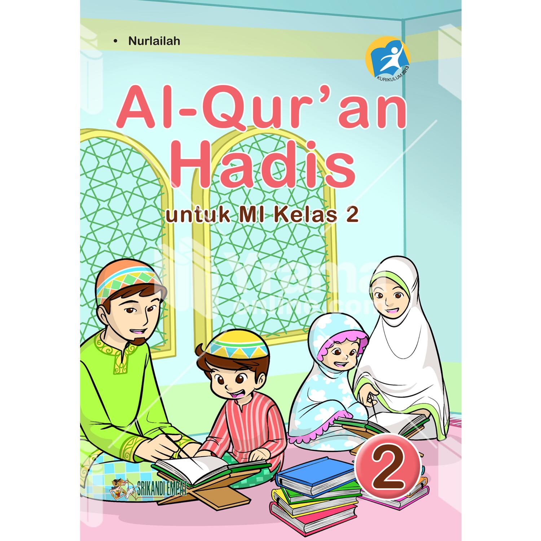 buku al-quran hadis untuk mi kelas 2