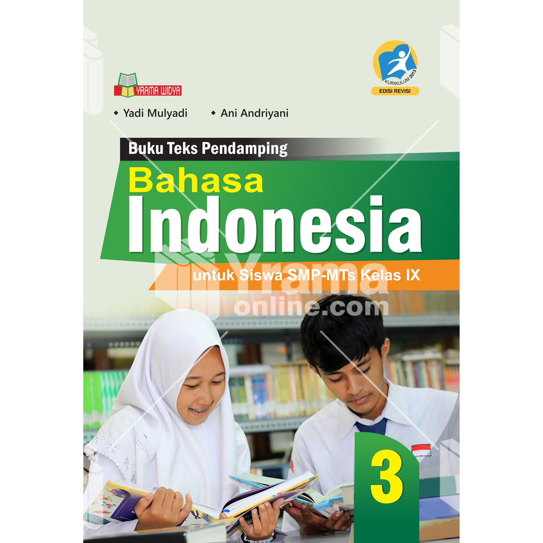 buku bahasa indonesia smp kelas ix