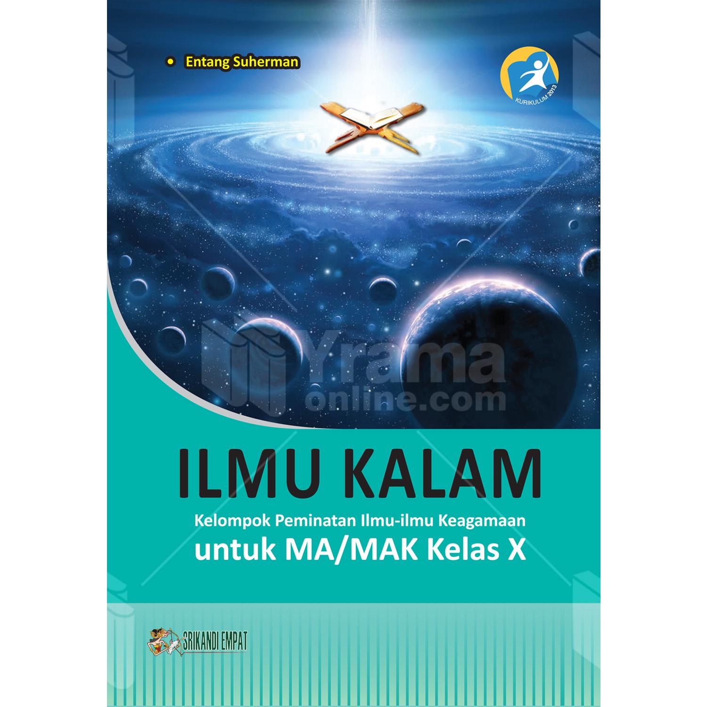 buku ilmu kalam untuk ma/mak kelas x peminatan