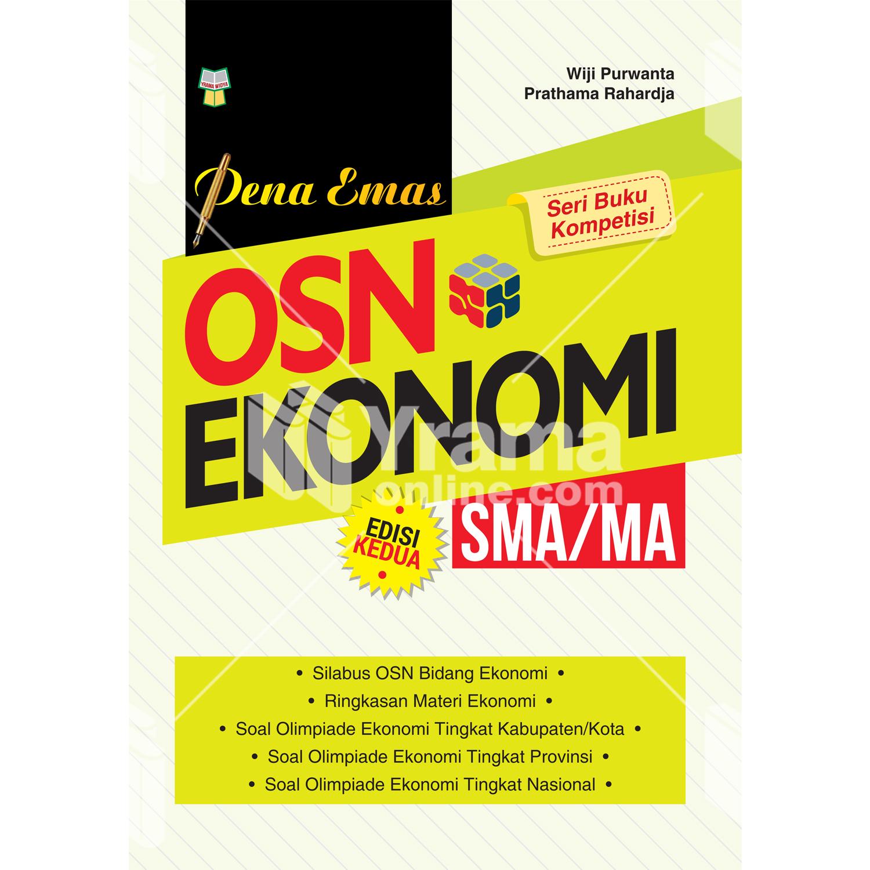 buku pena emas osn ekonomi sma/ma edisi kedua