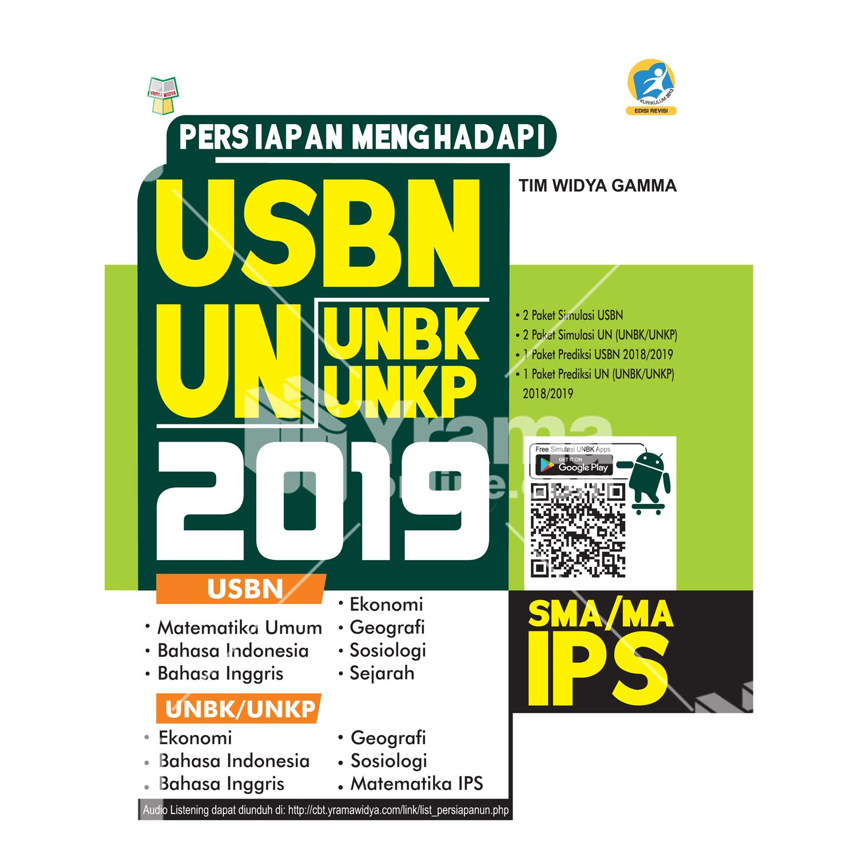 buku persiapan menghadapi usbn dan unbk/unkp sma ips 2019