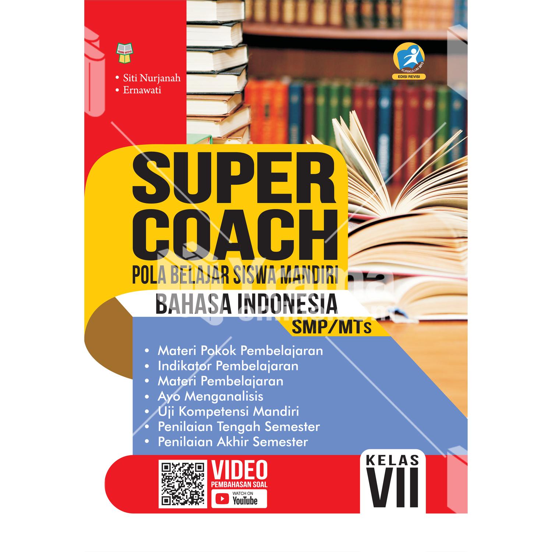 buku super coach bahasa indonesia smp/mts kelas vii