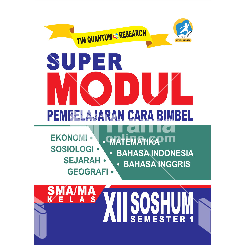 buku super modul sma/ma kelas xii soshum semester 1