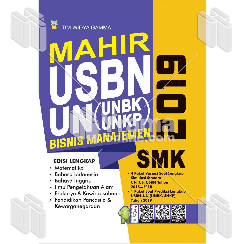 Buku Mahir Usbn Dan Unbk Unkp Smk Bisnis Manajemen 2019